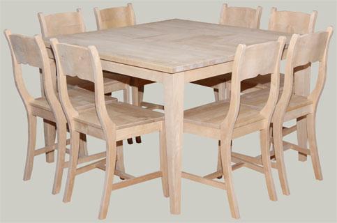Söögilaud ja talupoka toolid